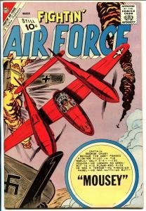 Fightin' Air Force #31 1962-Charlton-air war cover-WWII-high grade-NM