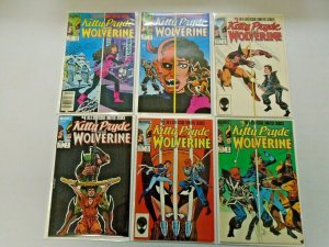 Kitty Pryde and Wolverine Set #1-6 6.0 FN (1984)