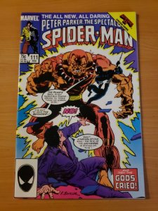 Spectacular Spider-Man #111 Direct Market Edition ~ NEAR MINT NM ~ 1986 Marvel