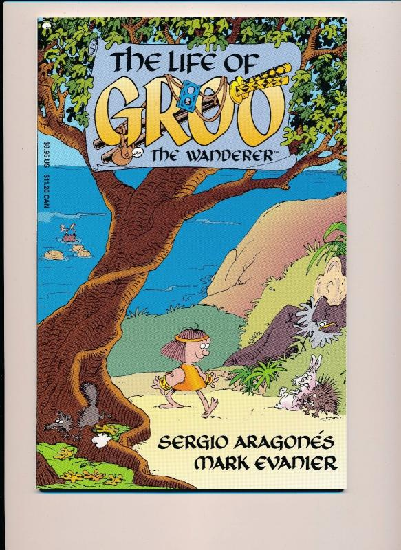 The Life of GROO the Wanderer Graphic Novel GN 1993 Epic Comics ~ VF/NM (HX476)