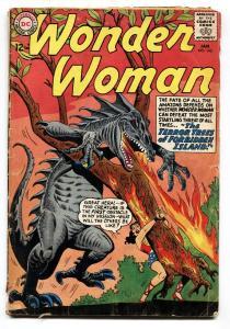 WONDER WOMAN #143 1964-DC COMICS-MONSTER COVER- G+
