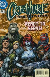 Creature Commandos #3 VF/NM; DC | save on shipping - details inside
