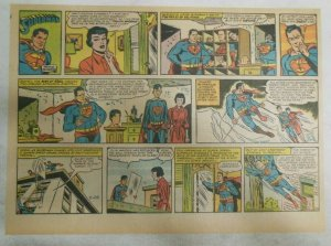 Superman Sunday Page #1154 by Wayne Boring from 11/26/1961 Size ~11 x 15 inches