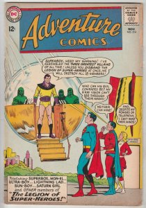 Adventure Comics #314 (Nov-63) VG+ Affordable-Grade Legion of Super-Heroes (S...