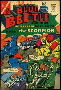 BLUE BEETLE V.3 #50-HIGH GRADE-CHARLTON VF