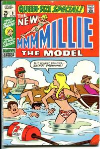 Millie The Model Annual #9 1970-Marvel-Giant issue-pin-ups-fashions-G/VG