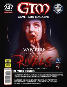 Game Trade Magazine #247 Vampire The Masquerade (GTM, 2020) - New!