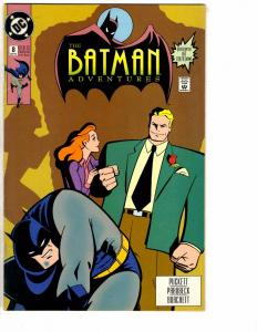 The Batman Adventures # 8 FN/VF DC Comic Book Joker Catwoman Gotham Robin J151
