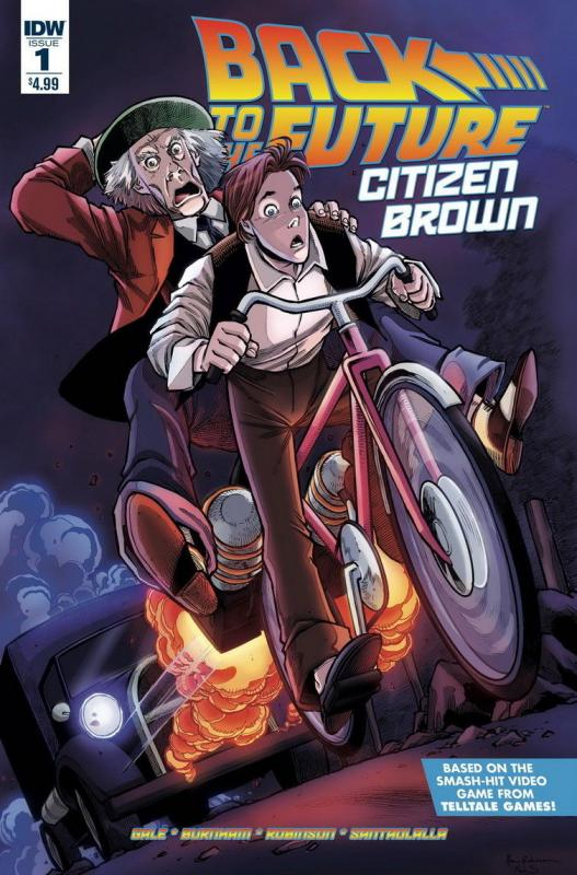 BACK TO THE FUTURE CITIZEN BROWN (2016 IDW) #1 NM-