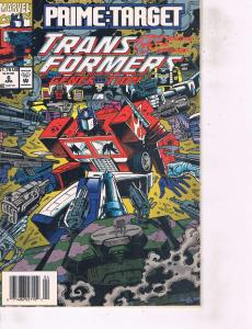 Lot Of 2 Marvel Comic Book Transformers Generation #6 and Iron Man X-0 #1 ON14