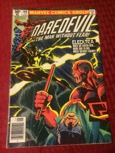 Daredevil #168 Marvel Comics (1961) FN Elektra Returns READ DESCR.