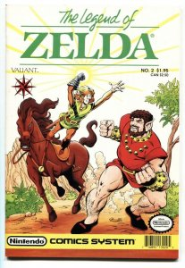 LEGEND OF ZELDA #2 1990-2nd issue- Valiant Comics VF/NM
