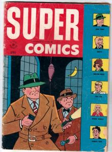 Super Comics #95 (Apr-46) VG Affordable-Grade Dick Tracy