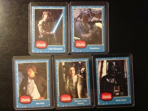 Topps Star Wars Celebration 2019 exclusive 5 card set limited & numbered to 99