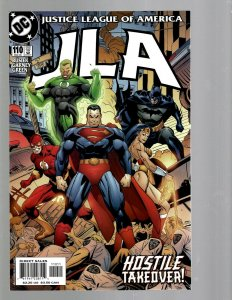 13 DC Comics JLA # 110 111 112 113 114 115 116 117 119 120 121 124 125 J438