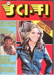 TV SCI FI MONTHLY 7 F+ LEONARD NIMOY INTERVIEW; GIANT B