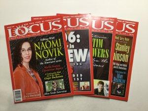 Locus Magazine 552-559 Lot Very Fine Vf 8.0 Locus Publications