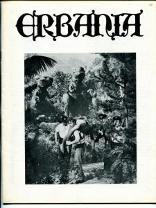Erbania #36 1974 -Edgar Rice Burroughs-Tarzan-Land Time Forgot-info-pix- FN/VF