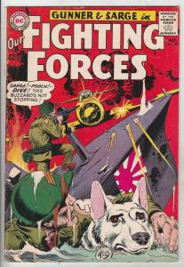 Our Fighting Forces #87 (Oct-64) VF High-Grade Gunner and Sarge, Pooch