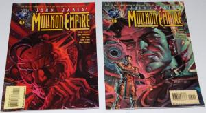 John Jake's Mullkon Empire  #4,5 - Tekno Comics ~VF/NM (HX203)