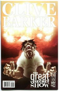 CLIVE BARKER - The GREAT and SECRET SHOW #12, NM-, 2006,more Horror in our store