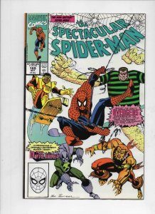 Peter Parker SPECTACULAR SPIDER-MAN #166 167 168 169 170 VF 1976 1990, 5 issues