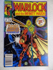 WARLOCK AND THE INFINITY WATCH # 1 MARVEL MOVIE ACTION ADVENTURE