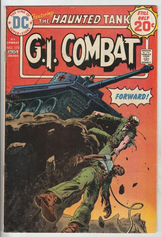 G.I. Combat #172 (Aug-74) VF High-Grade The Haunted Tank