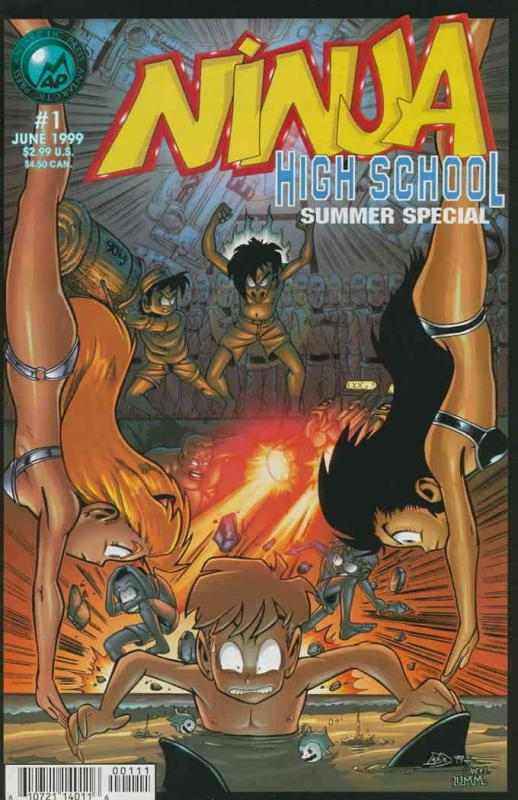 Ninja High School Summer Special #1 VF/NM; Malibu | save on shipping - details i