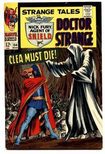Strange Tales #154 comic book 1967- Dr Strange- Nick Fury- Steranko FN