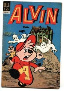 ALVIN #7 1964-DELL-Horror cover-TV CARTOON SERIES
