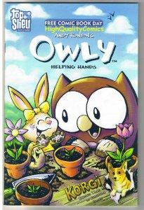 OWLY HELPING HANDS, NM, Korgi, Runton, Slade, FCBD, 2007
