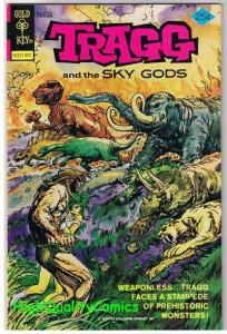 TRAGG & the SKY GODS #2, NM-, Dinosaurs, Gold Key, 1975, more GK in store
