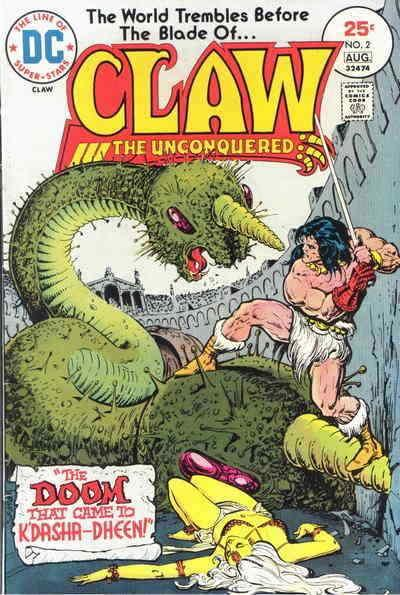 Claw the Unconquered #2 FN; DC | save on shipping - details inside