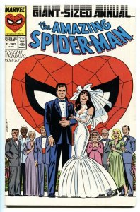 AMAZING SPIDER-MAN ANNUAL #21 -- 1987 - comic book MARVEL VF/NM