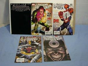 Marvel Comics Amazing Spider-Man LOT 5 Books 568 570 572 573 ANTI-VENOM HOT KEY!