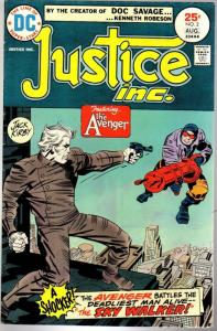 JUSTICE INC (1975) 2 VG Aug. 1975 Kirby