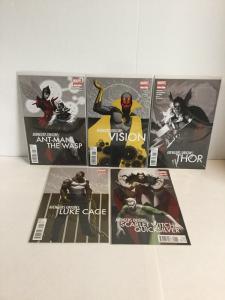 Avengers Origins One-Shot 5 Book Lot Nm Near Mint A4