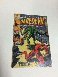 Daredevil 50 Fn/Vf Fine/Very Fine 7.0 Marvel Comics Silver Age