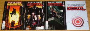 Ultimate Hawkeye #1-4 FN/VF complete series - jonathan hickman - avengers marvel