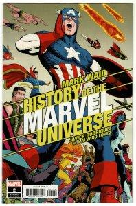 History Of Marvel Universe #2 Rodriguez Variant (Marvel, 2019) NM