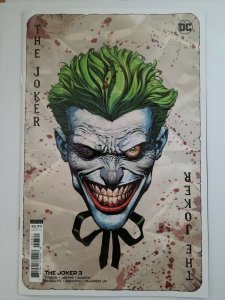 Joker Vol 2 #3 NM Cover B Variant David Finch Cover 2021