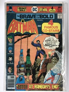 BRAVE & BOLD 130 G-VG Oct. 1976 Water Damage on BC COMICS BOOK