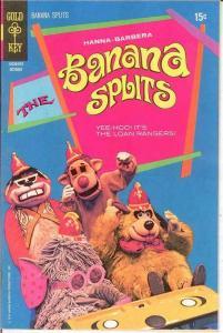 BANANA SPLITS (1969-1971 GK)  4 Hanna Barbera VF+ COMICS BOOK