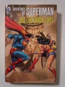 Adventures of Superman by Jose Luis Garcia-Lopez Hardcover