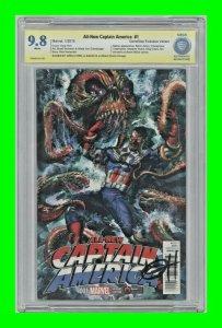 All-New Captain America #1 2015 Marvel 1st Sam as Captain America CBCS AS 9.8