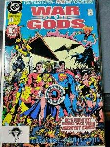 War of the Gods #1 (Sep 1991, DC) High Grade!!