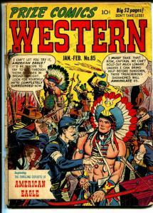 Prize Comics Western #85 1951-1st American Eagle-John Severin-G