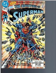 Adventures of Superman #468 (1990)