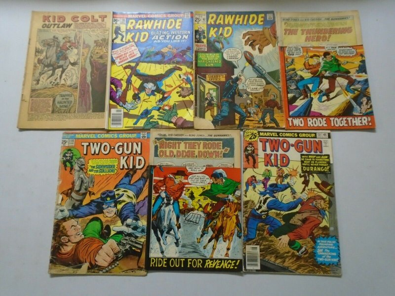 Silver + Bronze Age Western Readers Comic Lot 21 Different Books